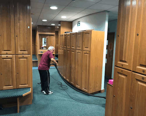 Sports Club Cleaning